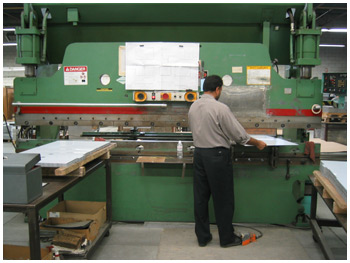 Close Tolerance Sheet Metal Fabrication - Brake Forming