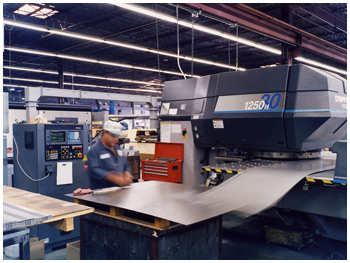 Close Tolerance Sheet Metal Fabrication Punching